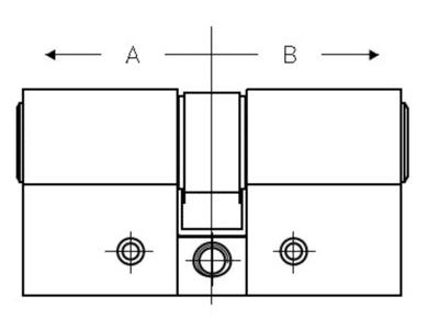 cilinder opmeten voor Danalock
