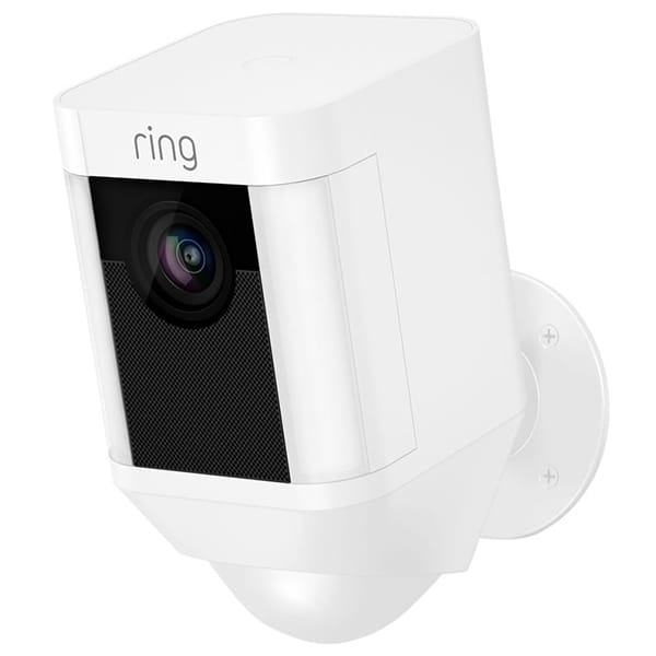 Ring Spotlight Cam Batterij Wit