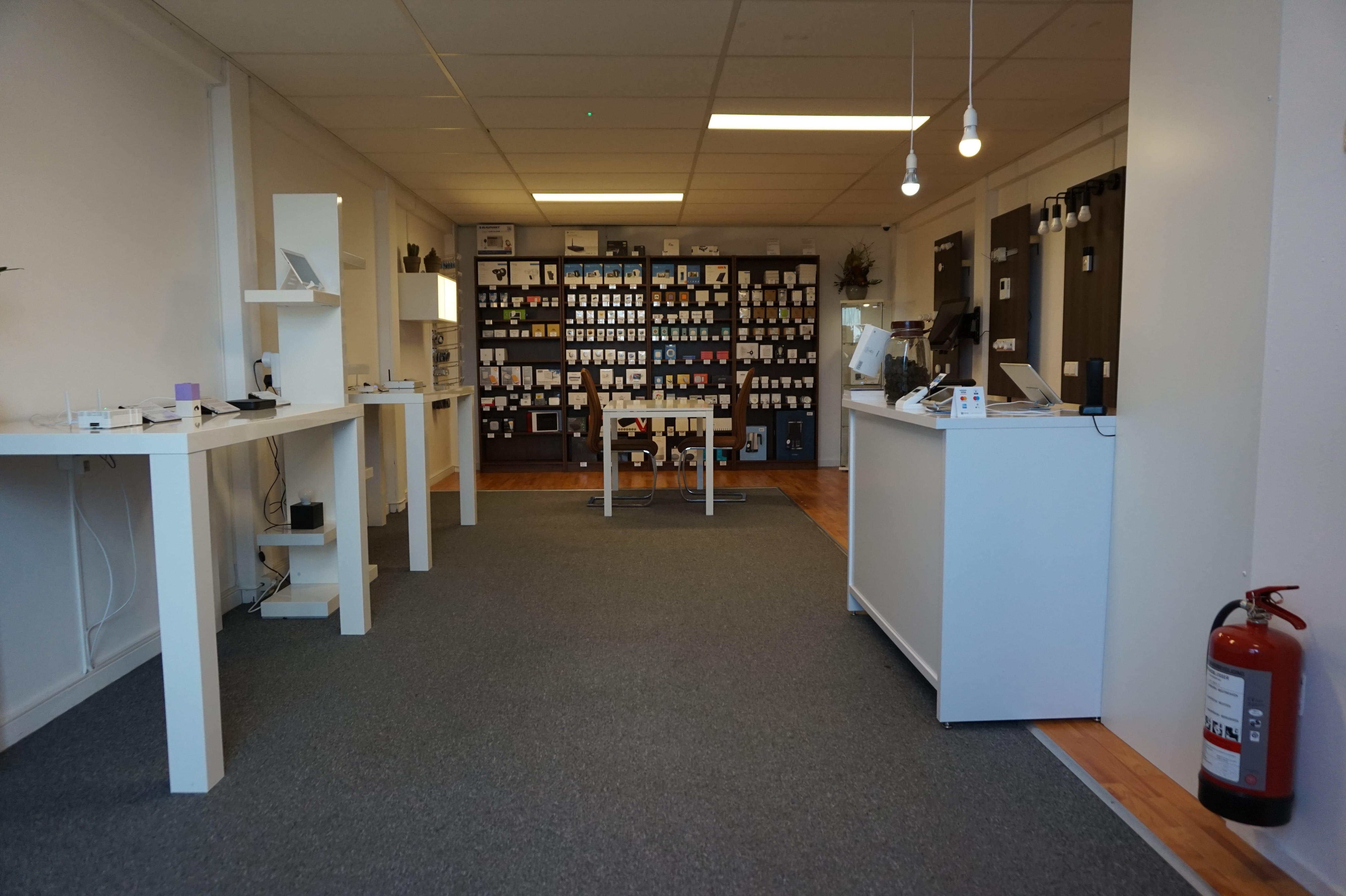 Overzicht domotica winkel