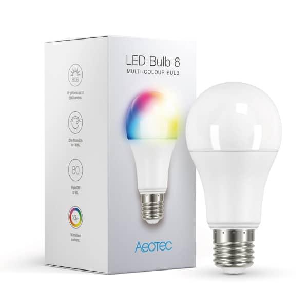 Aeotec LED Bulb 6 Multi-Colour