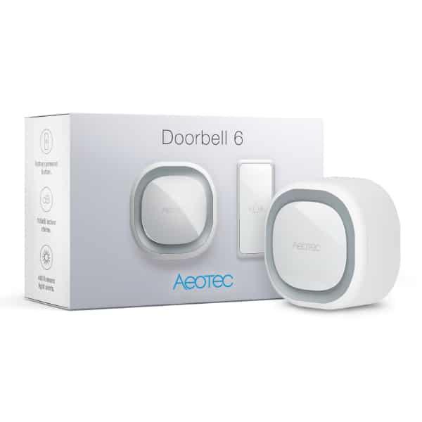 Aeotec Doorbell 6 AEOEZW162 verpakking